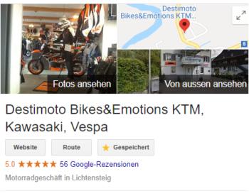 Top Bewertung auf Google
