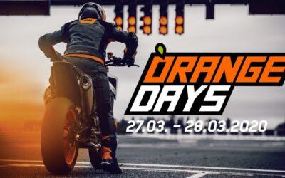 ORANGE DAYS 27./28. MÄRZ